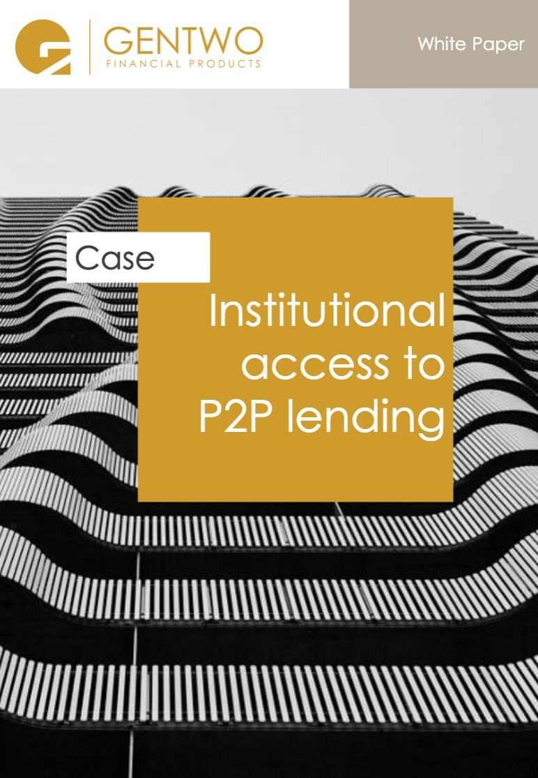 Institutional access to P2P lending